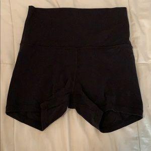 Black Align Shorts